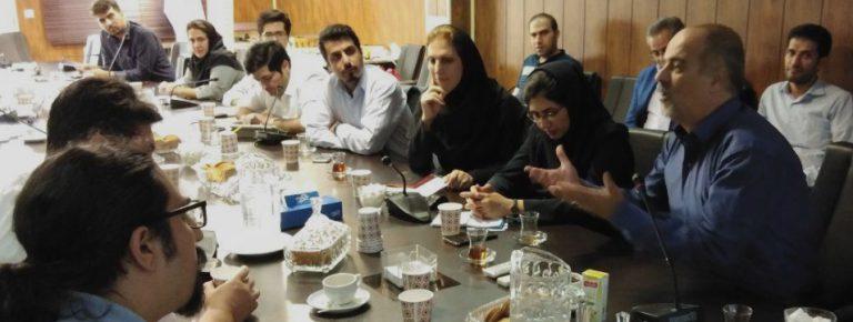 برگزاری جلسه مشترک مرکز ملی شماره گذاری کالا